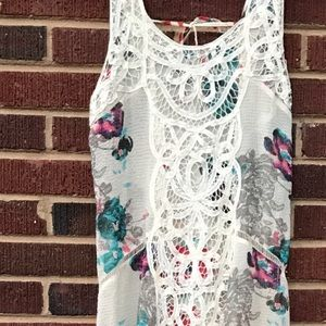 Free People Floral Slip Maxi